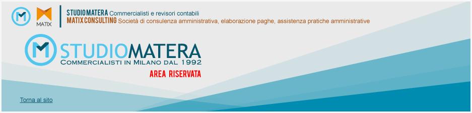 studio Matera - Area Riservata